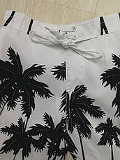 Шорты пляжные детские белые -157-02, фото 3