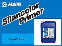 Паропроницаемая сглаживаемая силиконовая грунтовка Mapei Silancolor Primer 10 kg. (силанколор праймер)