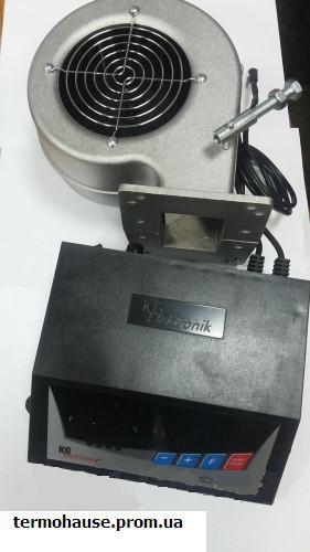 Вентилятор и блок автоматики для твердотопливных котлов KG Electronik  SP-05LED