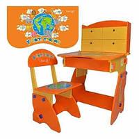 Парта детские растишка новинка детская стол-парта со стульчиком растишка Bambi (Metr+) W 078  киев