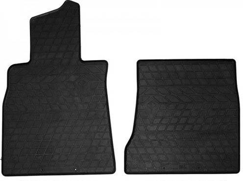 Коврики резиновые Mercedes Benz W222 S Long 13- (New Design) - (Передние 2) Stingray