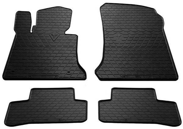 Коврики резиновые Mercedes Benz X204 GLK 08- (New Design) - (Комплект) Stingray