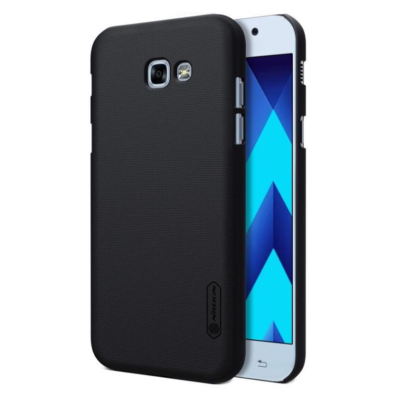 Чохол-накладка Nillkin для Samsung A520F A5(2017) Matte ser. +плівка Чорний