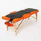 Складной 3-х секционный массажный стол Titan