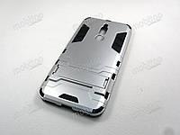 Противоударный чехол Meizu M6T (серебристый), фото 1
