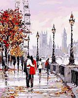Рисование по номерам 40×50 см. Лондонский глаз Художник Ричард Макнейл, фото 1