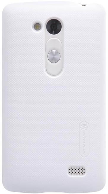 Чохол-накладка Nillkin для LG D295 L Fino Matte ser. +плівка Білий