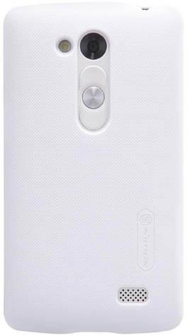 Чохол-накладка Nillkin для LG D295 L Fino Matte ser. +плівка Білий, фото 2
