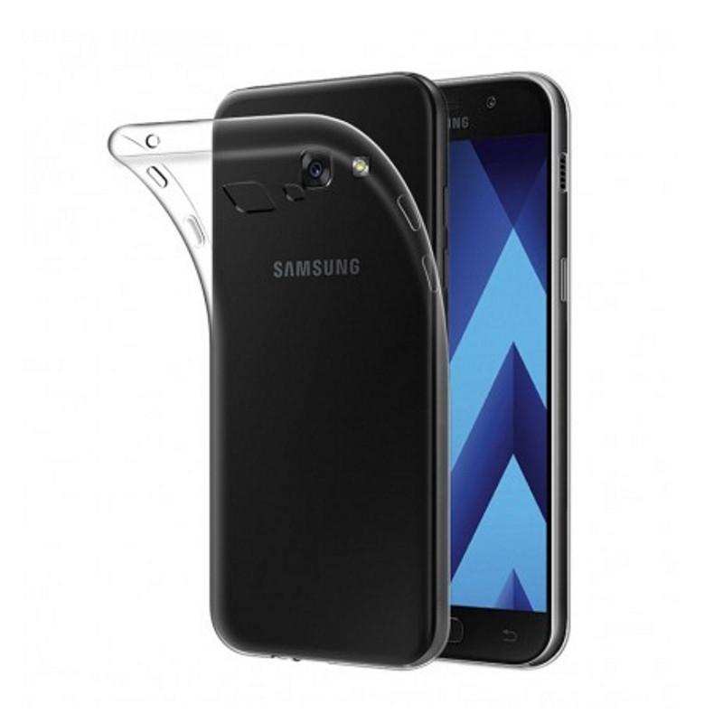 Чехол накладка TPU для Samsung A520F A5 (2017) Ultra thin ser. Прозрачный / бесцветный