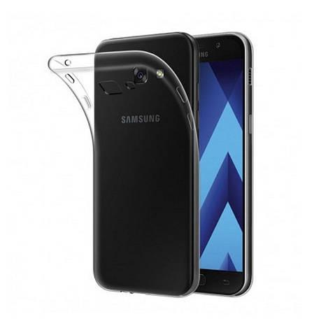 Чехол накладка TPU для Samsung A520F A5 (2017) Ultra thin ser. Прозрачный / бесцветный, фото 2