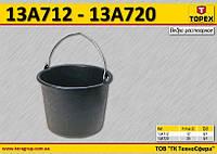 Ведро пластмассовое для раствора 20л,  TOPEX  13A720
