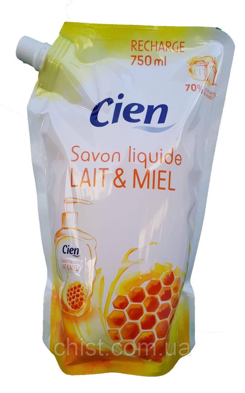 Cien жидкое мыло запаска (750 мл) Milk & Honey