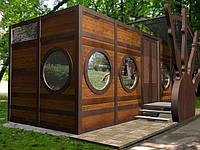 Мобильный туалет павильон на 4 места МПТ-4 М1