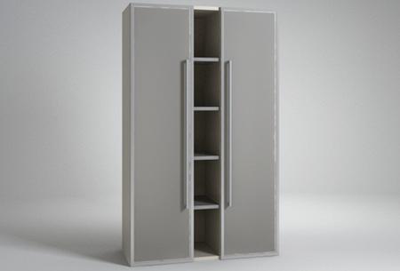 Шкаф для документов со стеклом Техно