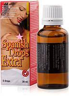 Возбуждающие капли для двоих SPANISH DROPS EXTRA 30ml