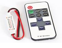Диммер одноканальный mini 12А Радио - Сенсорный 11 кнопок