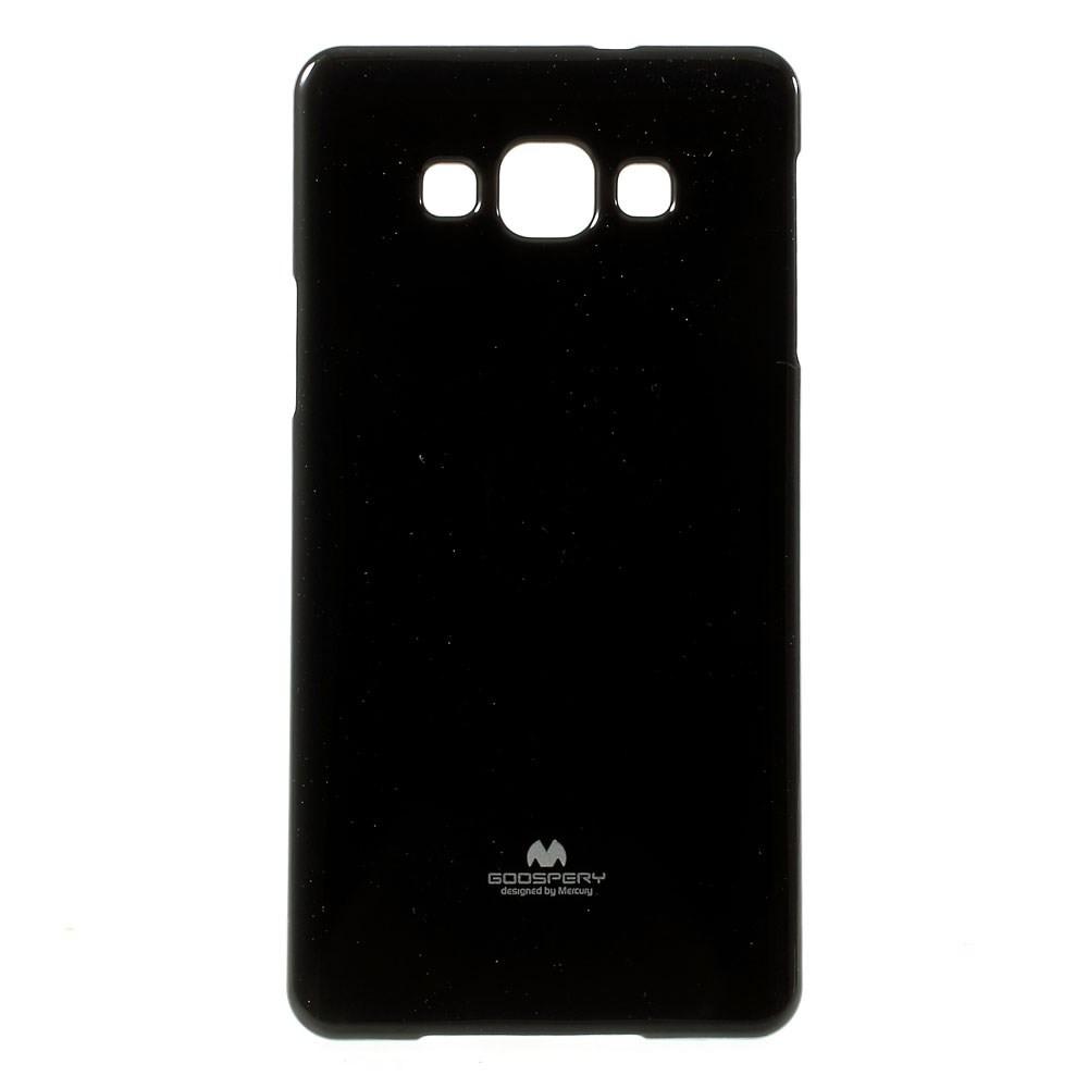 Чехол накладка силиконовый TPU Mercury для Samsung Galaxy A7 A700 черный