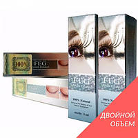 Препарат-сыворотка для роста ресниц FEG. Двойной объем,  6 мл. 100% Оригинал