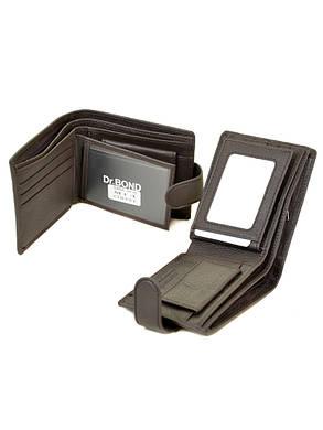 Кожаный мужской кошелек М14/1 коричневый, фото 2