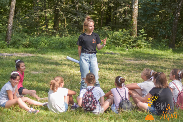 Фото детский праздник на природе