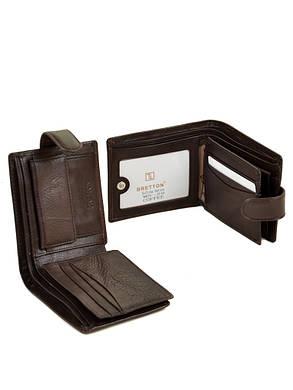 Мужской кошелек Bretton мягкая кожа Ms-25/2, фото 2