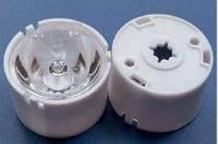 Линза HX-CSP-5 белый держатель для светодиодов типа 3535 5 градусов 9409