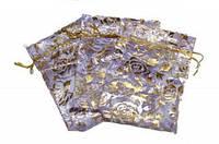 Мешочек из органзы Фиолетовый 1 шт / 100 шт / 500 шт