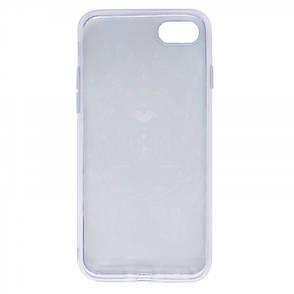 "Чохол-накладка для iPhone 7 (4.7"") Всевидяче око ser. TPU Прозорий/Павлін, фото 2"