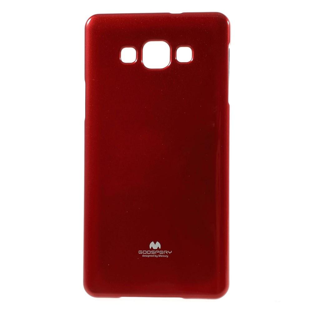 Чехол накладка силиконовый TPU Mercury для Samsung Galaxy A7 A700 красный