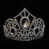 Корона/диадема Снежной Королевы серебристая, фото 2