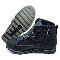 Чоловічі шкіряні зимові черевики CAT Expensive Black Night. Розмір 40 fd0196f89ad4b
