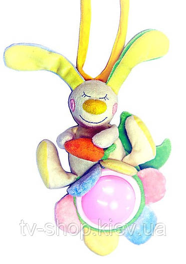 Ночник-игрушка Заяц (муз.)