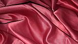 Постельное белье шелковый атлас Burgundy, фото 2