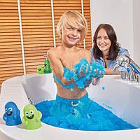 Снег для ванной Gelli Baff Color Change Blue Джелли Бафф 300 г синий измени цвет