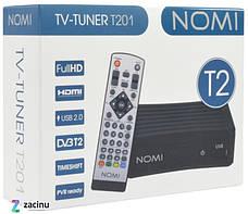 Цифрова приставка Nomi T201 Чорний, фото 2
