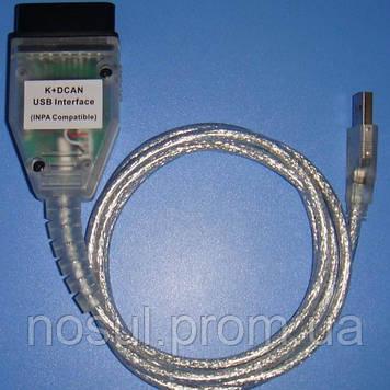 BMW INPA K+CAN USB диагностика БМВ на диллерском уровне (1994 - 2017)NCS ExpertEDIABASNFSRheingold (x32, x