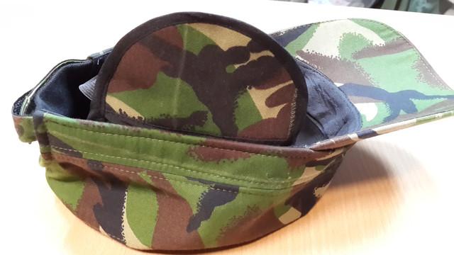 Камуфлированная утепленная кепка DPM купить