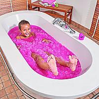 Снег для ванной Gelli Baff Pink Джелли Бафф 300 г розовый