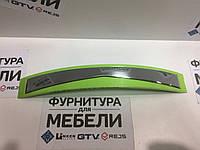 Ручка мебельная 128мм РФ.01 Зеленая+Хром