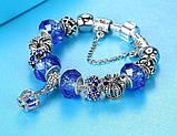 Женский браслет Primo KORONA в стиле PANDORA - Blue, фото 2