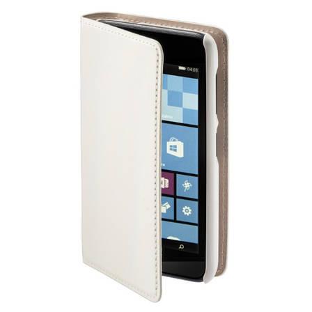 Чехол книжка Hama для Microsoft (Nokia) Lumia 530 Slim ser. белый, фото 2