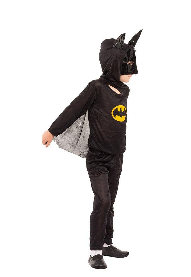 Детский маскарадный костюм Бэтмен (штаны, кофта и шапка-маска) полиэстер