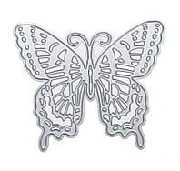 """Нож для вырубки """"Бабочка"""" для фоамирана и бумаги для скрапбукинга 7.6x6.6 см 1 шт"""