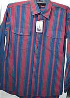 Мужская рубашка KAINIU - 100% хлопок (размеры от 38 до 46)