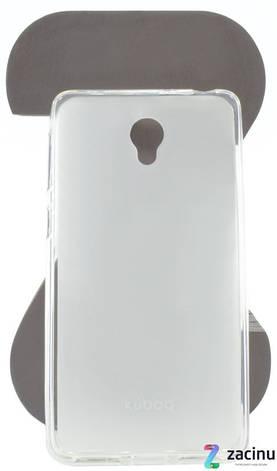 Чохол-накладка Kuboq для Lenovo S860 Advanced ser. TPU Прозорий/матовий, фото 2