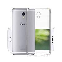Чохол-накладка TPU для Meizu M3 Max Ultra-thin ser. Прозорий/безколірний