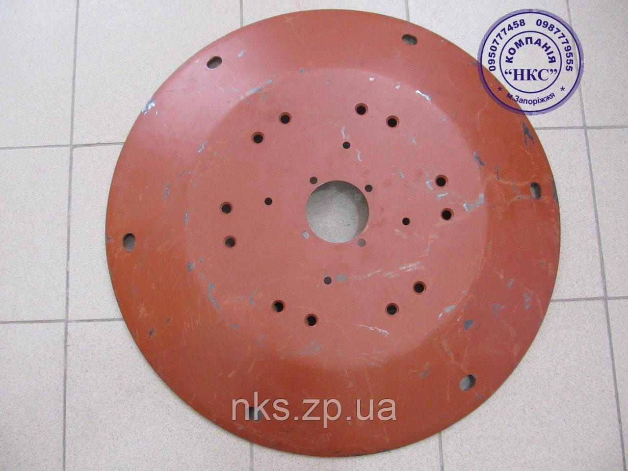 Тарелка рабочая (круглые отверстия) Z-169. Запчасти на косилку Z-169.