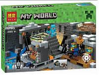 Детский Конструктор BELA Портал Края (аналог LEGO 21124 Minecraft), фото 1