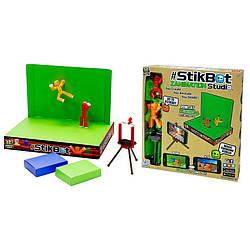 Фигурка STIKBOT в наборе из 2 шт., штативом и сценой для анимации