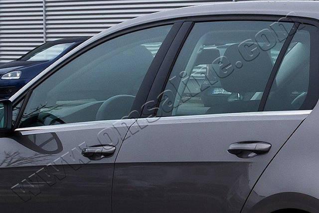 Нижние молдинги стекол Volkswagen Golf (2013-) (нерж.) 4 шт